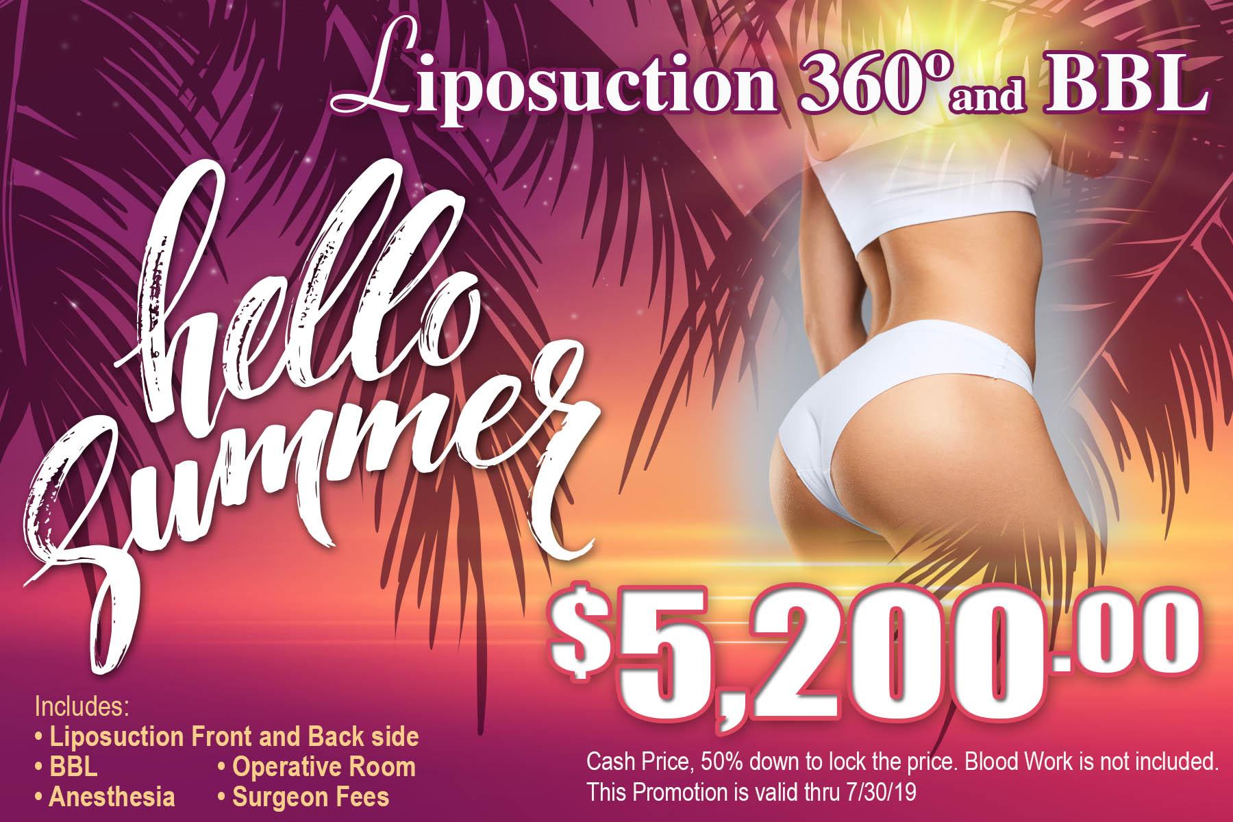 Lipo 360 Specials